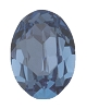 Swarovski 4128 Xilion Oval Fancy Stone 10x8mm Denim Blue (144 Pieces)